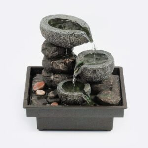 pajoma Zimmerbrunnen Floating Stones, Höhe ca. 20 cm