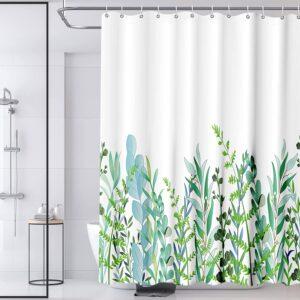 HQKNIGHT Duschvorhang,Duschvorhang Anti-schimmel Badezimmer Duschvorhänge
