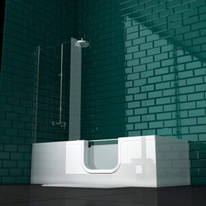 VitrA Conforma Combo Rechteck-Badewanne Einstieg Rechts