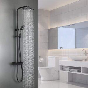 Auralum 2 Funktionen Duschsystem mit Thermostat