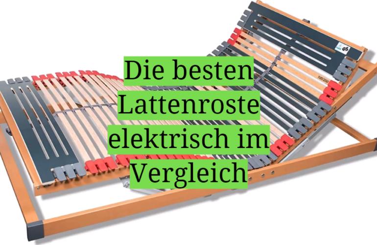 Elektrischer Lattenrost Test 2021: Die besten 5 Lattenroste elektrisch im Vergleich