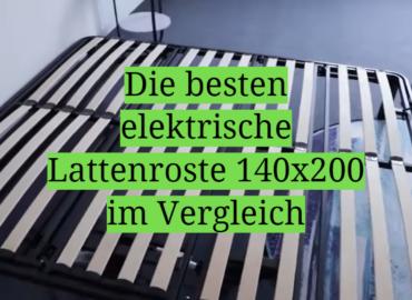 Die besten elektrische Lattenroste 140x200 im Vergleich