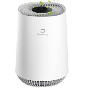 Greenote Luftreiniger, bis zu 40m² Wohnung, 3-in-1 H13 HEPA Luftfilter
