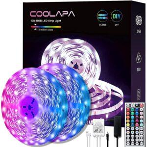 10M LED Strip, COOLAPA RGB LED Streifen