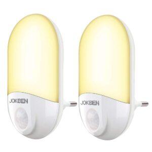 LED Steckdose Nachtlicht mit Bewegungsmelder und Dämmerungssensor Steckdosenlicht