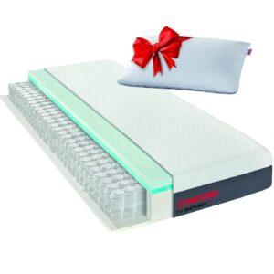 Matratzen Concord DIE MATRATZE Taschenfederkernmatratze mit Duo Topper und gratis Kissen 120x200