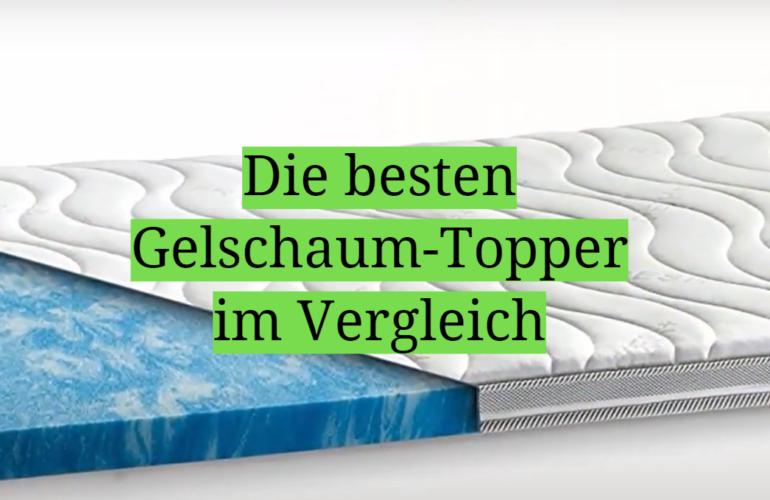 Gelschaum-Topper Test 2021: Die besten 5 Gelschaum-Topper im Vergleich