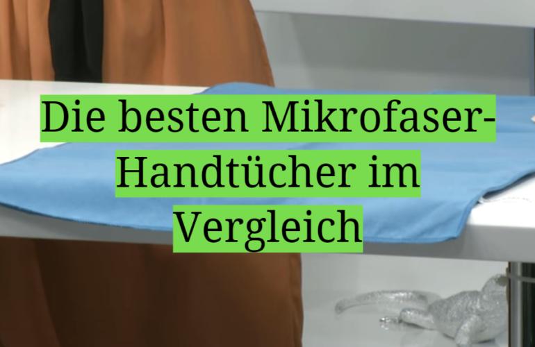 Mikrofaser-Handtuch Test 2021: Die besten 5 Mikrofaser-Handtücher im Vergleich